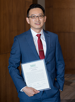 Ying-Chih Chen, 2017 Early Career Research Award recipient
